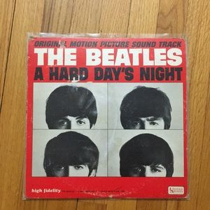 The Beatles A Hard Day's Night Vinyl Record